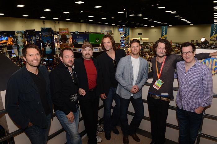 Supernatural Cast Comic Con 2012 1