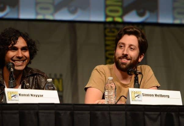 The Big Bang Theory Cast Comic Con Panel 2012 2