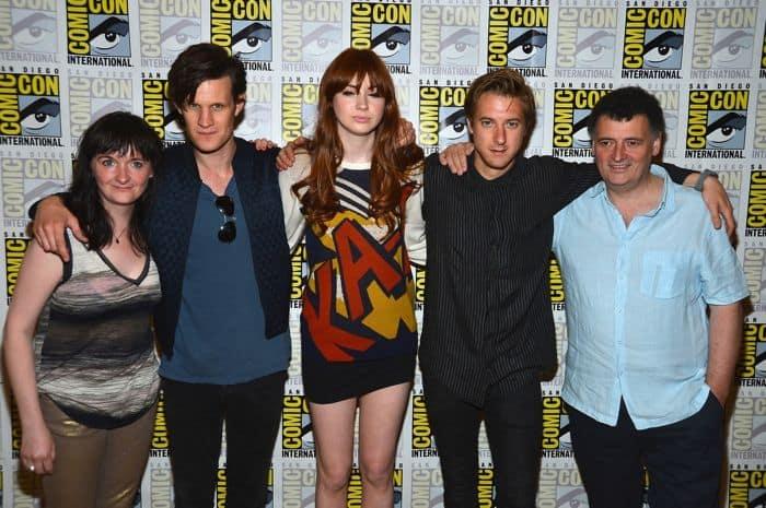 Doctor Who Comic Con 2012