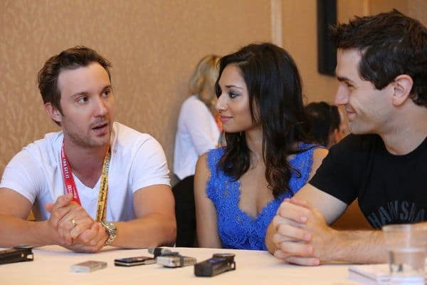 Being Human Cast Syfy Comic Con