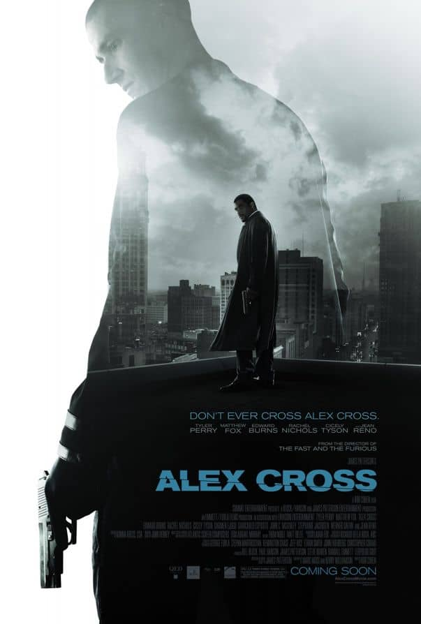 Alex Cross Movie Poster Tyler Perry Matthew Fox