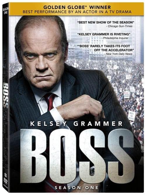 Boss Season 1 DVD