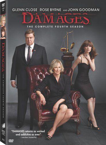 Damages Season 4 DVD