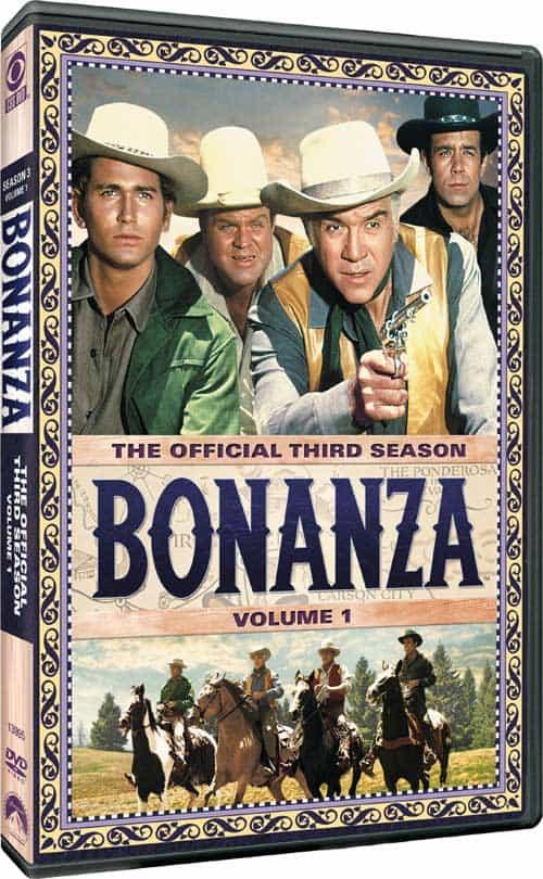 Bonanza Season 3 Volume 1 DVD