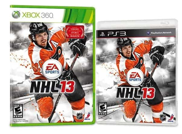 NHL 13 Cover PS3 XBOX 360