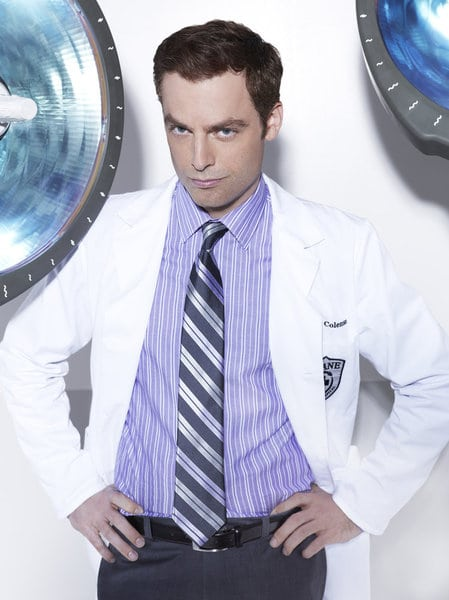 ANIMAL PRACTICE -- Season: 1 -- Pictured: Justin Kirk as Dr. George Coleman -- (Photo by: Robert Trachtenberg/NBC)