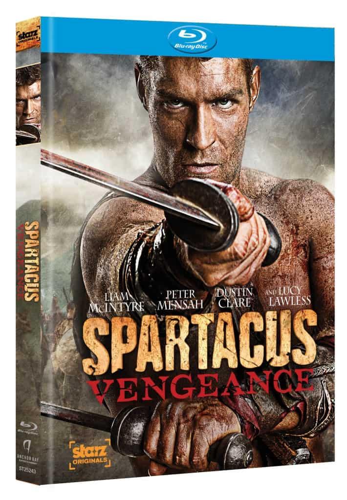 spartacus vengeance bluray