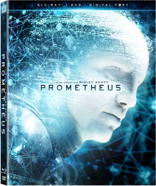 Prometheus Bluray DVD
