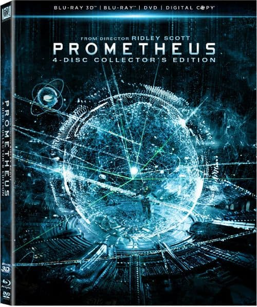 Prometheus Bluray 3D DVD