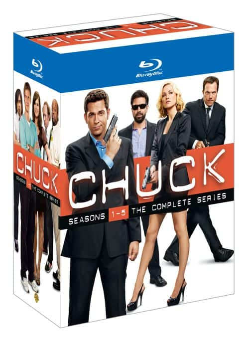 CHUCK The Complete Series Collector Set Bluray