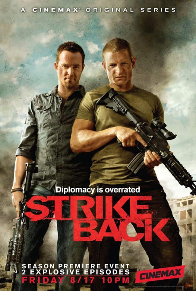 STRIKE BACK Season 2 Poster