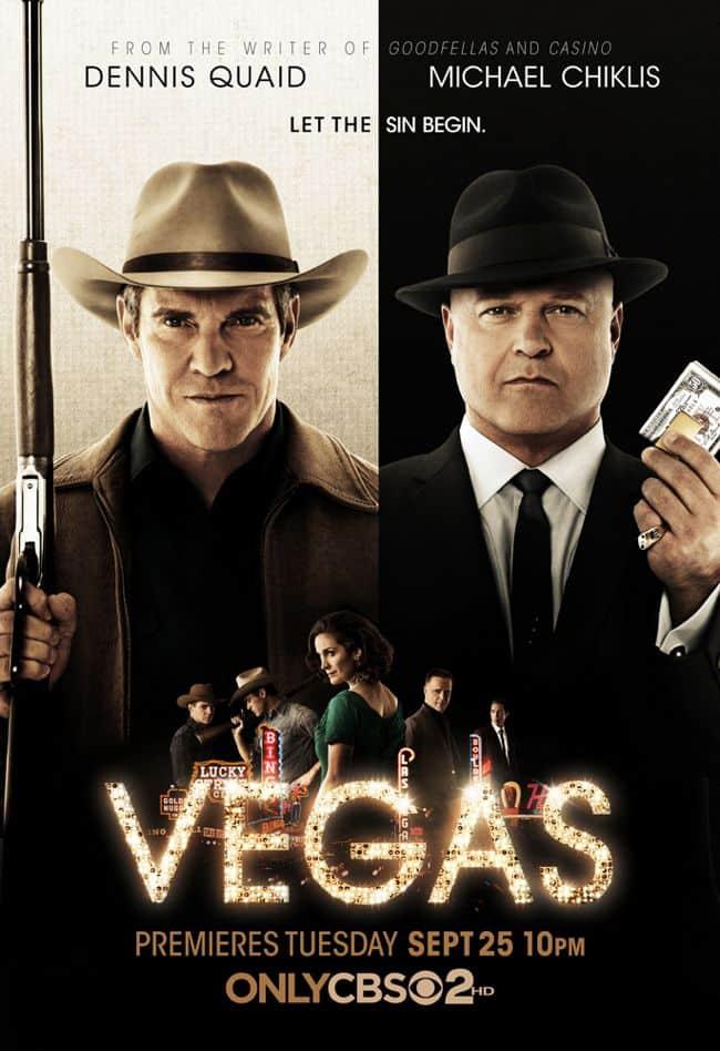 VEGAS Season 1 Poster