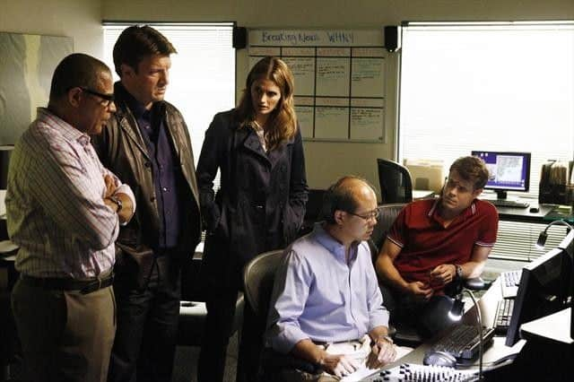 TYREES ALLEN, NATHAN FILLION, STANA KATIC, CHRIS ELWOOD