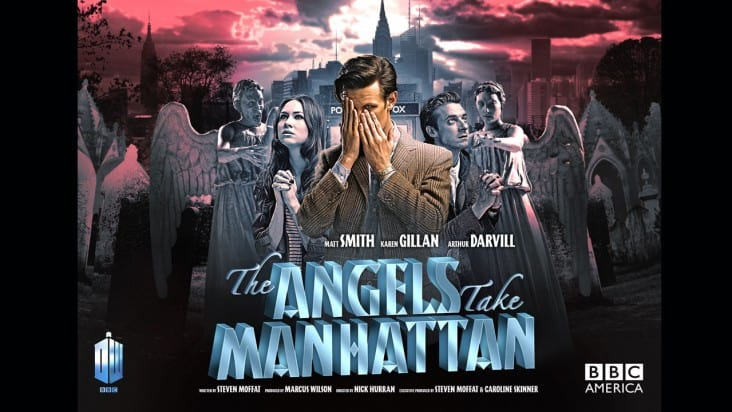 DOCTOR WHO Season 7 Episode 5 The Angels Take Manhattan