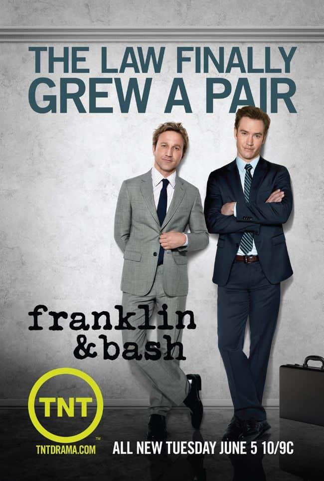 Franklin And Bash Season 2 Poster