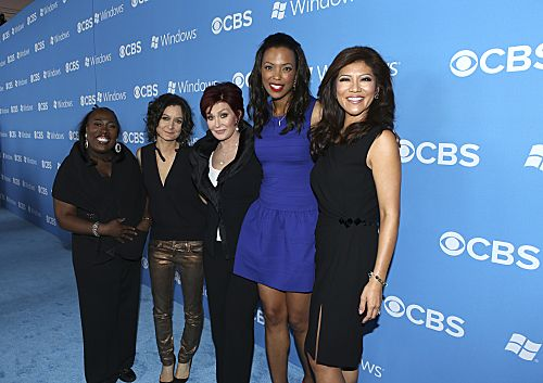 Pictured (l-r); Sheryl Underwood; Sara Gilbert; Sharon Osbourne; Aisha Tyler; and Julie Chen of THE TALK. Stars from CBS' new and returning shows celebrate the new television season at the CBS 2012 Fall Premiere Party, Tuesday, Sept.17 at Greystone Manor in Los Angeles, Ca. Photo: Monty Brinton/CBS ©2012 CBS Broadcasting Inc. All Rights Reserved.Stars from CBS' new and returning shows celebrate the new television season at the CBS 2012 Fall Premiere Party, Tuesday, Sept.17 at Greystone Manor in Los Angeles, Ca. Photo: Monty Brinton/CBS ©2012 CBS Broadcasting Inc. All Rights Reserved.