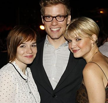 Stars from CBS' new and returning shows celebrate the new television season at the CBS 2012 Fall Premiere Party, Tuesday, Sept.17 at Greystone Manor in Los Angeles, Ca. Pictured (l-r); Renée Felice Smith & Barrett Foa (NCIS: Los Angeles) and Sarah Jones (Vegas). Photo: Cliff Lipson/CBS ©2012 CBS Broadcasting Inc. All Rights Reserved.