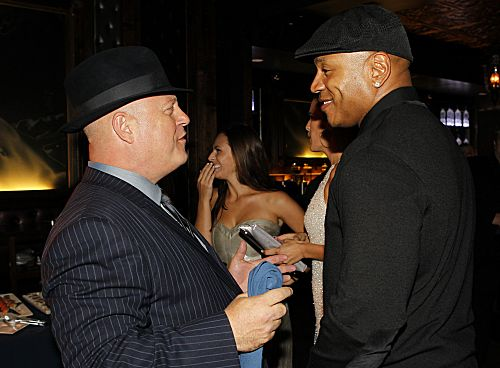 Stars from CBS' new and returning shows celebrate the new television season at the CBS 2012 Fall Premiere Party, Tuesday, Sept.17 at Greystone Manor in Los Angeles, Ca. Pictured (l-r); Michael Chiklis (Vegas); LL Cool J (NCIS: Los Angeles) Photo: Cliff Lipson/CBS ©2012 CBS Broadcasting Inc. All Rights Reserved.