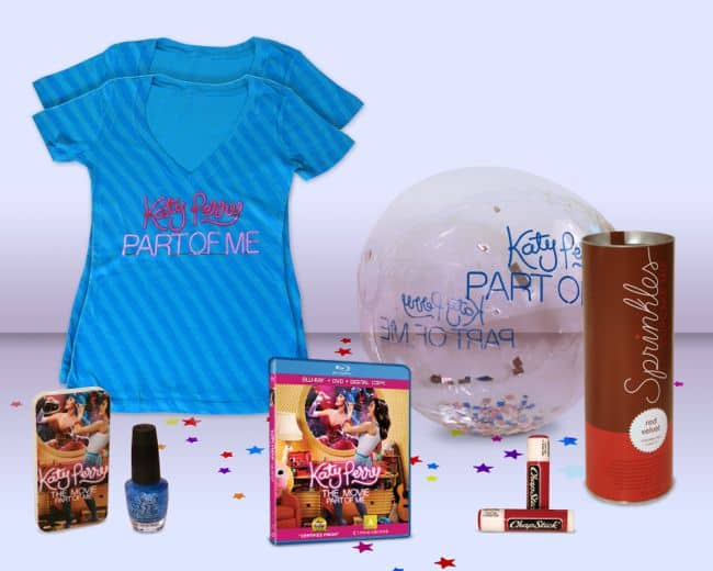 KATY PERRY PART OF ME BLURAY Prize Pack