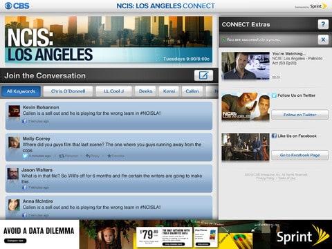 NCIS Los Angeles iPad App