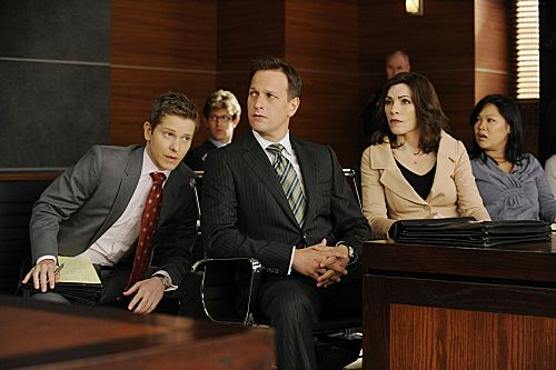 THE GOOD WIFE Season 4 Episode 3 Two Girls One Code