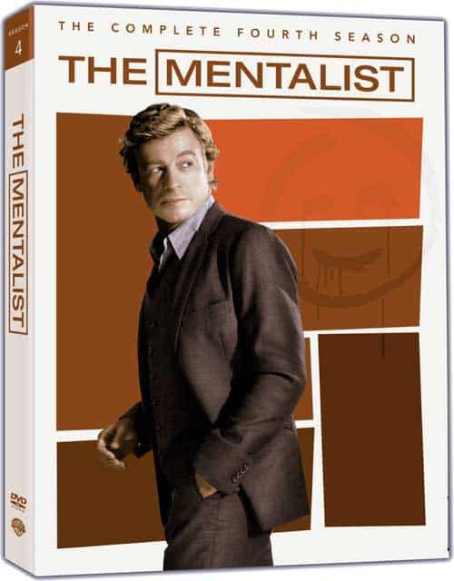 The Mentalist Season 4 DVD
