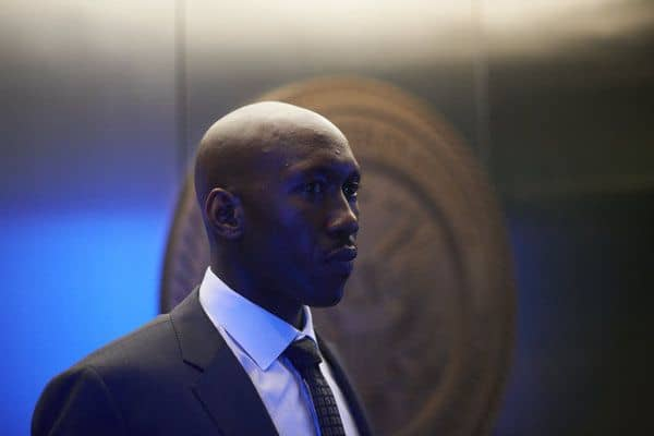 "ALPHAS -- ""Falling""  Episode 208  -- Pictured: Mahershala Ali as Nathan Cley -- (Photo by: Russ Martin/Syfy)"