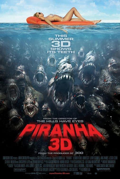 piranha 3d movie poster