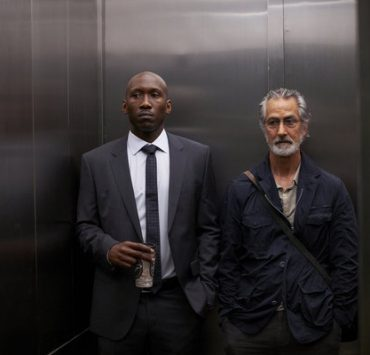 """ALPHAS -- """"Falling"""" Episode 208 -- Pictured: (l-r) Mahershala Ali as Nathan Cley, David Strathairn as Dr. Lee Rosen -- (Photo by: Russ Martin/Syfy)"""