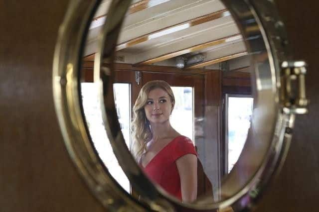 """REVENGE - """"Destiny"""" - In the wake of last summer's events in the Hamptons and with the ante even higher, what will Emily's next move be? Will she be able to manage her heart and keep her emotions from getting in the way of her resolve to avenge her father? The Season Two premiere of """"Revenge"""" airs on the series' new night and time, SUNDAY, SEPTEMBER 30 (9:00-10:01 p.m., ET), on the ABC Television Network. (ABC/KAREN NEAL) EMILY VANCAMP"""