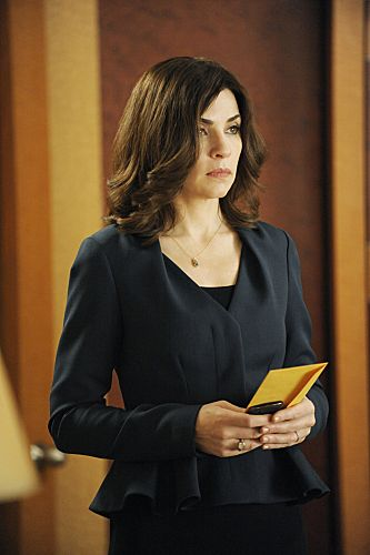 """And The Law Won""--Alicia (Julianna Margulies) unexpectedly aids Peter's campaign, on THE GOOD WIFE, Sunday Oct 7 (9:00-10:00 PM, ET/PT) on the CBS Television Network. Photo: Jeffrey Neira/CBS ©2012 CBS Broadcasting, Inc. All Rights Reserved"