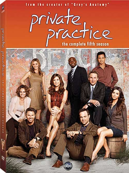 Private Practice Season 5 DVD
