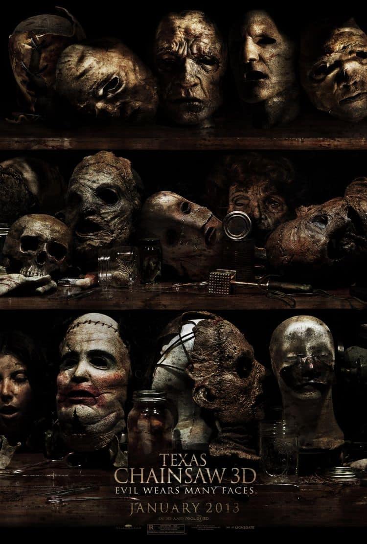 Texas Chainsaw Massacre 3D Movie Poster