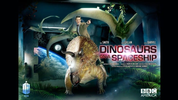 Doctor Who Dinosaurs On A Spaceship