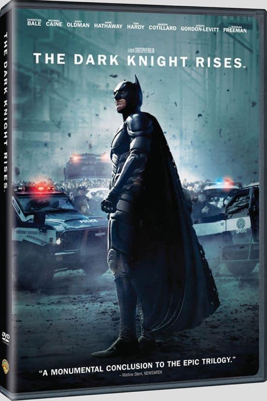 The Dark Knight Rises DVD