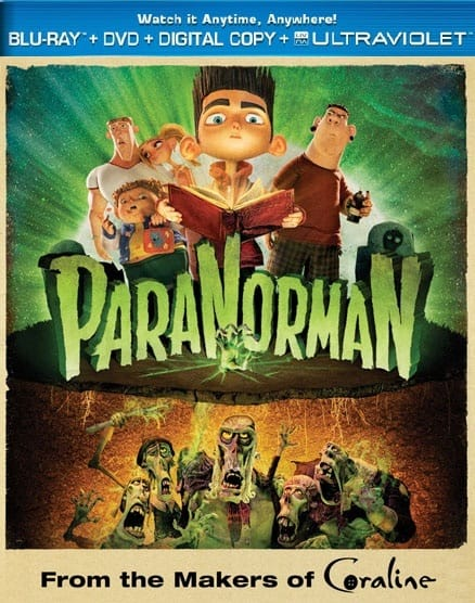 ParaNorman Bluray DVD