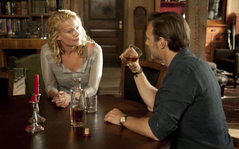 "Andrea (Laurie Holden) and The Governor (David Morrissey) - The Walking Dead_Season 3, Episode 3_""Walk With Me"""