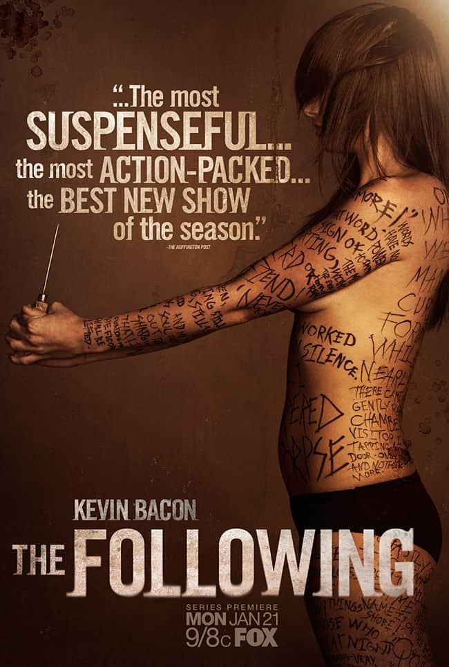 The Following FOX Poster