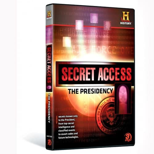 SECRET ACCESS THE PRESIDENCY DVD