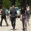 Daryl Dixon (Norman Reedus), Rick Grimes (Andrew Lincoln), Michonne (Danai Gurira) and Oscar (Vincent Ward) - The Walking Dead - Season 3, Episode 7