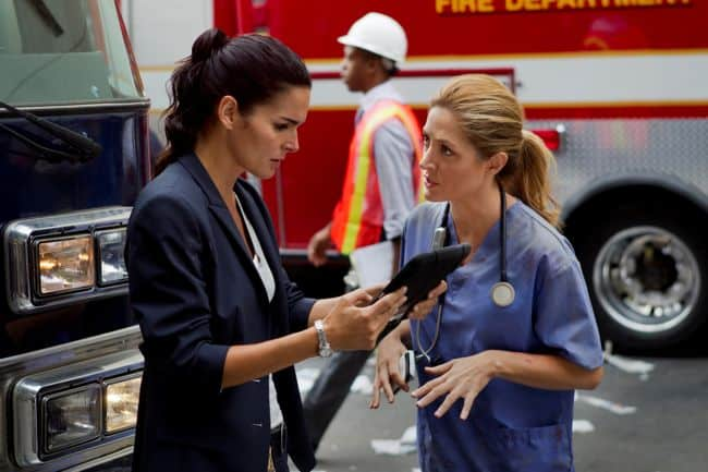 """RIZZOLI & ISLES""""No More Drama In My Life"" / Ep 315TNTPh: Doug Hyun"
