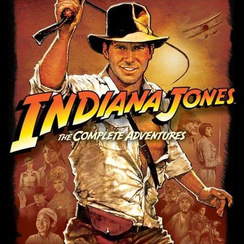 INDIANA JONES The Complete Adventures Bluray