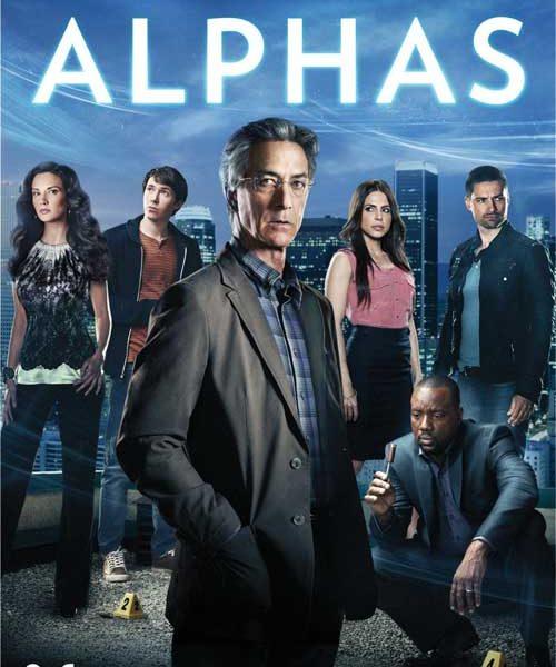 Alphas Season 1 DVD