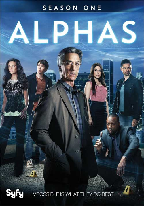 Alphas Season 1 DVD