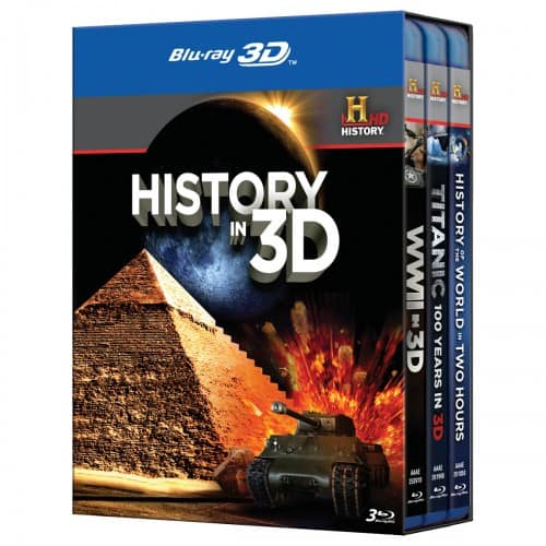 HISTORY IN 3D BLURAY SET