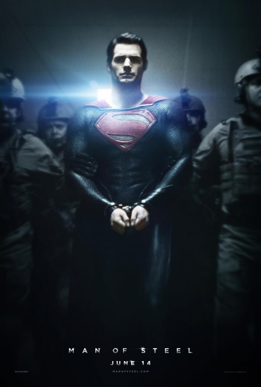 Man Of Steel Poster Superman