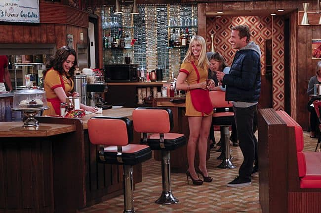 2 BROKE GIRLS Season 2 Episode 9 And The New Boss