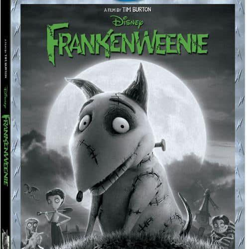 Frankenweenie DVD Bluray