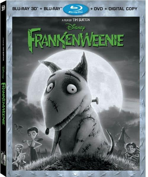 Frankenweenie DVD Bluray