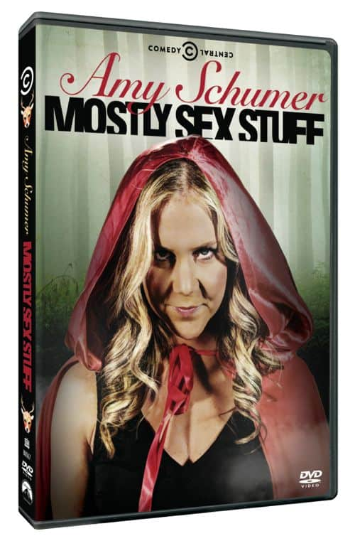 Amy Schumer Mostly Sex Stuff DVD